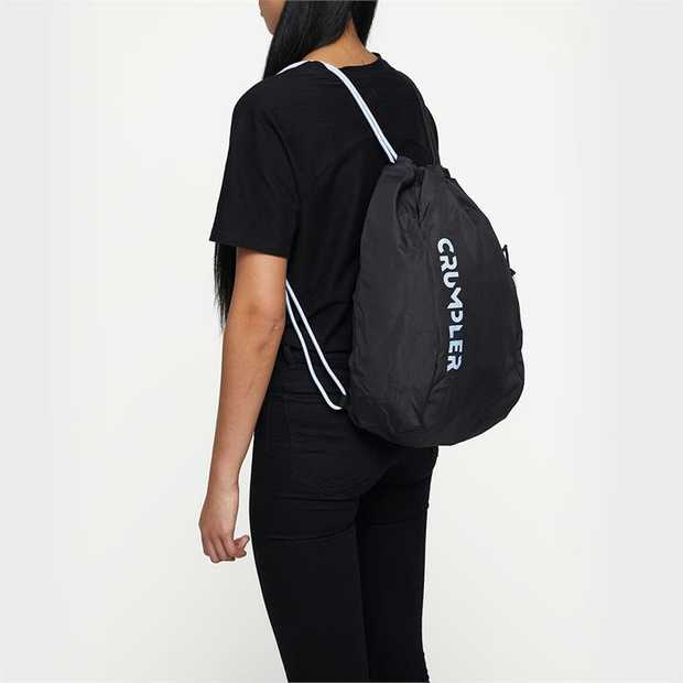 A lightweight, versatile drawstring backpack. Perfect for stashing gym or beach gear, groceries, or...
