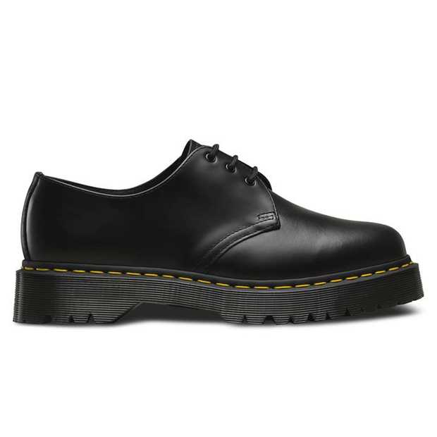 The 1461 is the iconic Dr. Martens derby. The Bex edition elevates literally with a taller midsole that...