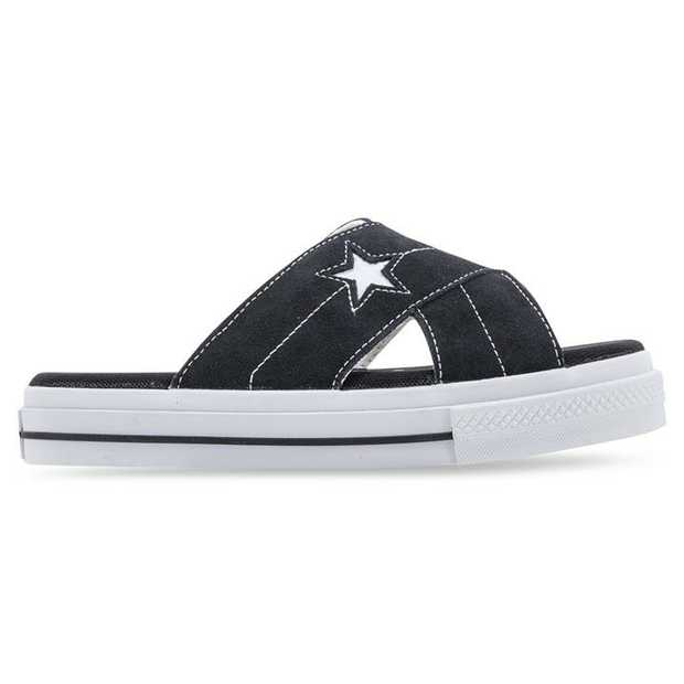 Converse have gone and done it: the One Star is now a sandal. Somewhat faithfully keeping as much of...