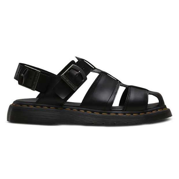 The Kassion is a classy sandal style featuring dual ankle adjustment straps and grid leather upper...