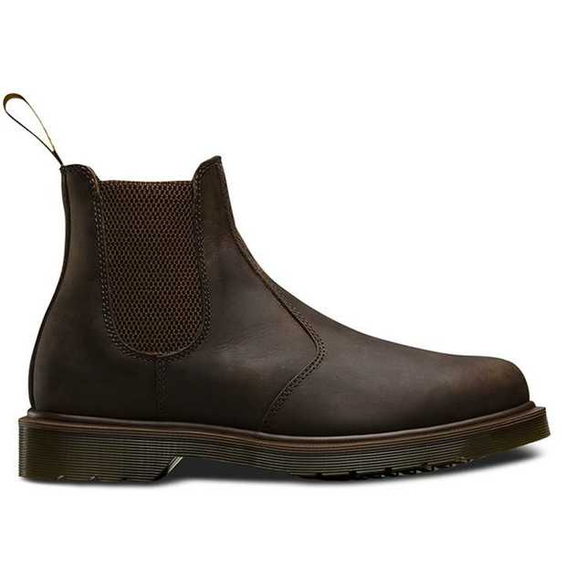 Codenamed 2976, this is Dr. Martens' take on the age-old chelsea boot. Ankle elastic gussets combined...