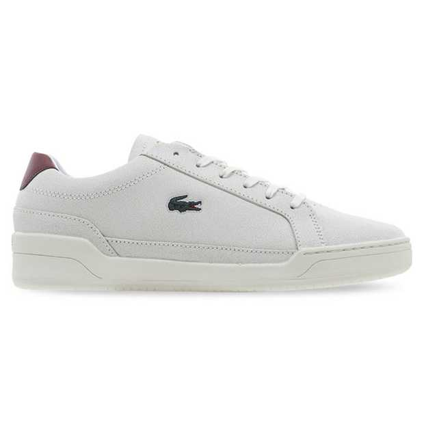 The Lacoste Challenge 319 is a contemporary tennis-inspired sneaker. Featuring a cracked leather finish...