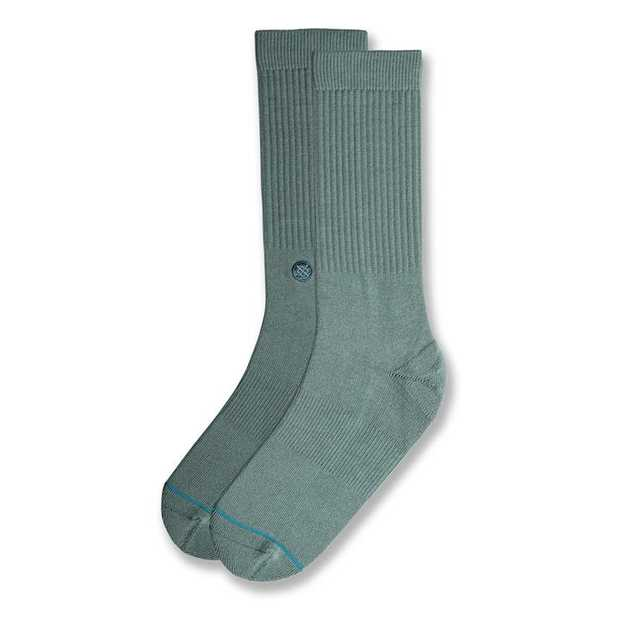 The Icon is the no-nonsense crew sock from Stance. A solid colour, cotton construction and comfort...