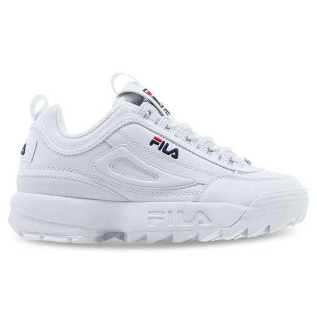 A once-forgotten sneaker from Fila's obscure archives, 1996's Disruptor returned in 2018 for a sequel:...