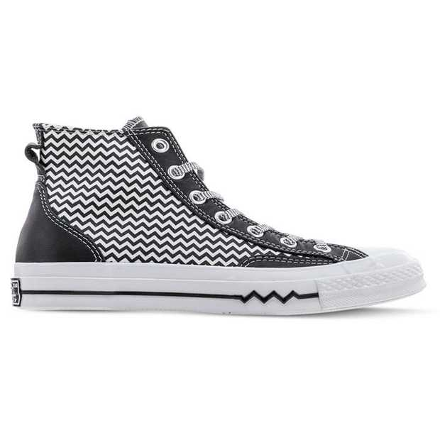 V is for Victorious and these Mission-V Chuck Taylor 70s are decked out in them, a clear winner.