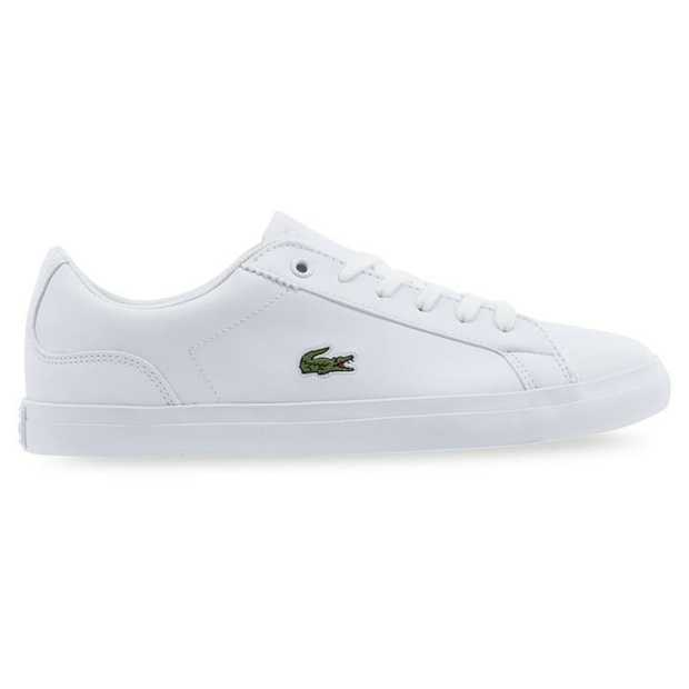 The Lerond 119 from Lacoste effuses classic off-court lines for a contemporary, casual look.