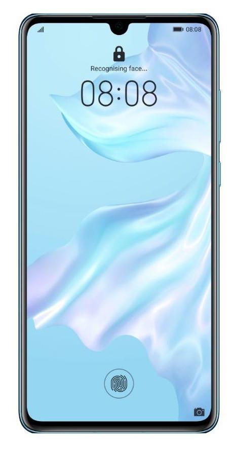 "6.1"" OLED HUAWEI Dewdrop Display HUAWEI Kirin 980 Octa-core Processor 6GB RAM 128GB Storage Android 9..."
