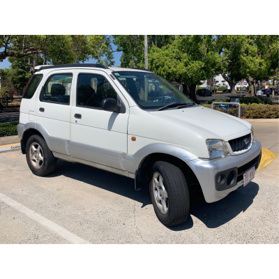 AUTO Daihatsu Terios. New engine, radiatior, battery, tires 80%, any test. VGC. 179km. $3500.