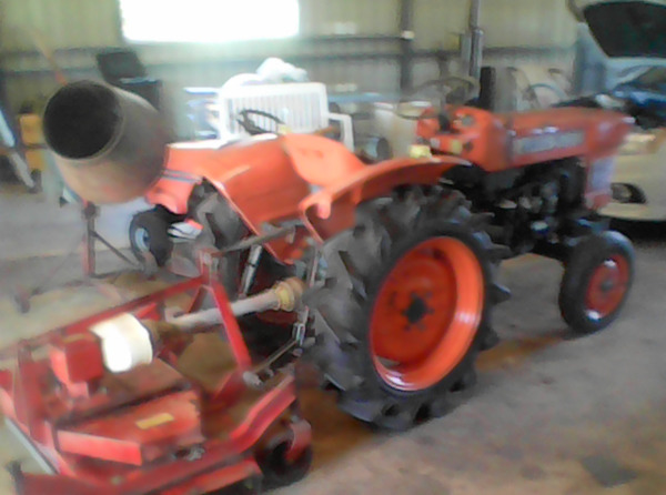 Tractor & Slasher   KUBOTA 15HP Tractor and 4 ft slasher   Great condition.   $3,500...