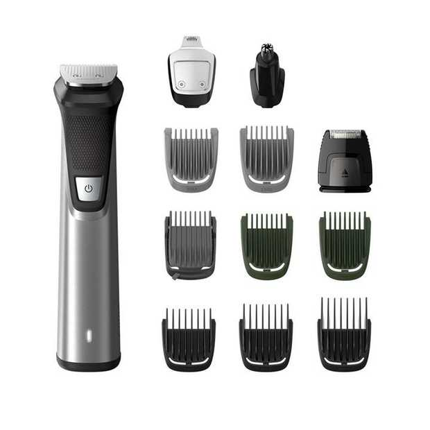 12 tools for face, hair & body DualCut technology Precision shaver Up to 120 minute run time Detail...