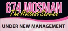 674 MOSMAN - The Hottest Service    UNDER NEW MANAGEMENT  Enjoy the BEST Erotic Massage &...