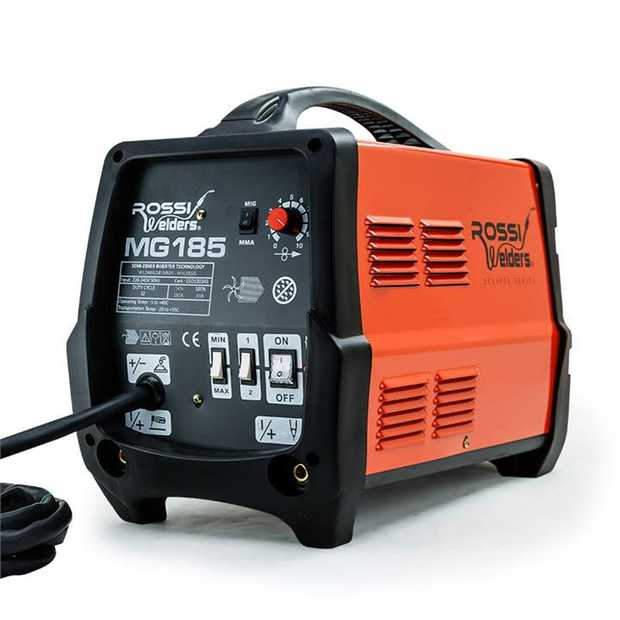 For your next welding project, get the job done right with the NEW Rossi Eclipse Series MG185 Gas &...