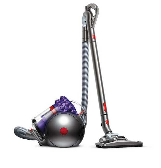 1.6L, high-capacity bin Dyson Cinetic science No dirty filters to wash or replace Dual mode cleaner...