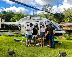 Arrive at Atherton Tableland's iconic watering holes in absolute style on this five hour helicopter pub...
