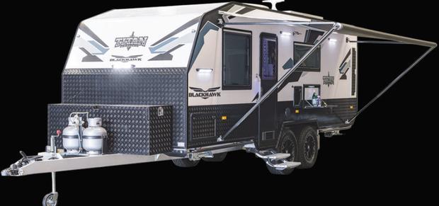 CLEVELAND SHOW SPECIAL   BLACKHAWK -2060 MID DOOR -   Built Tough - For Aussie Off Road -   Was...