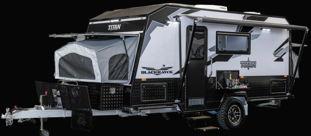 CLEVELAND SHOW SPECIAL   BLACKHAWK -1890 EXPANDER HARDTOP -   TITAN CARAVANS   Built Tough - For...