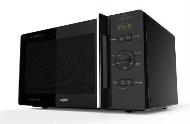 800W Crisp, Quartz grill 3D Microwave Distribution System Jet Defrost Bread Defrost & Auto Clean Auto...