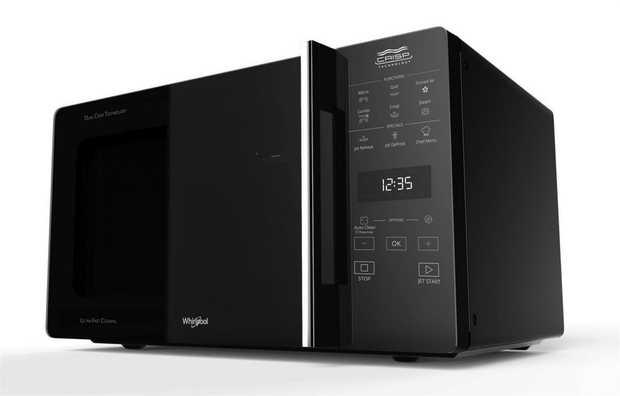 800W microwave 900W Grill Whirlpool CrispFry Technology Quartz Grill 3D Microwave Distribution System...