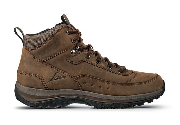 A mid cut hiking boot with superior comfort and support technologies