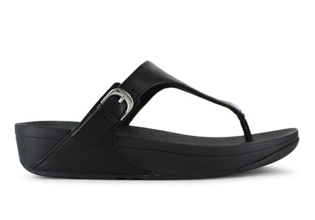 The Fitflop Skinny, leather adjustable toe-thongs are pretty much perfect. Refined and flattering on...