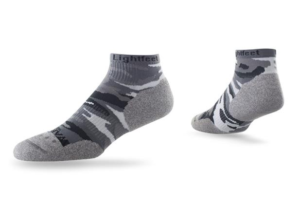 The Lightfeet Warrior Mini crew sock are designed anatomically to shape the foot, whilst keeping the...