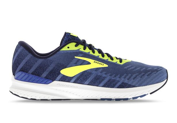 The Brooks Ravenna 10 has moderate support with full length cushioning in a lightweight package.