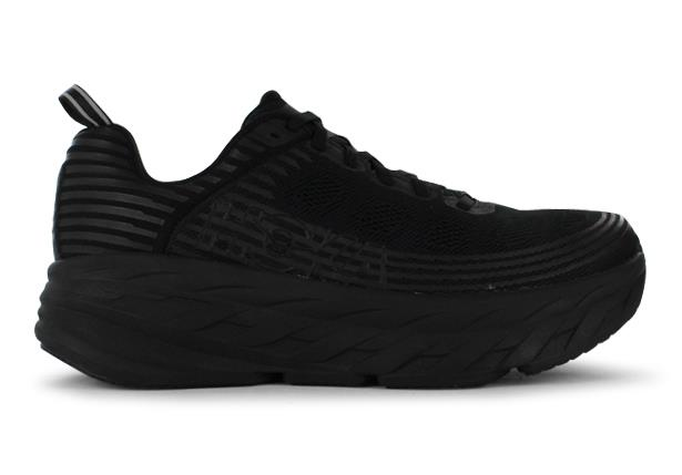 The Hoka Bondi 6 is for all foot types, particularly those after maximal protection and load...