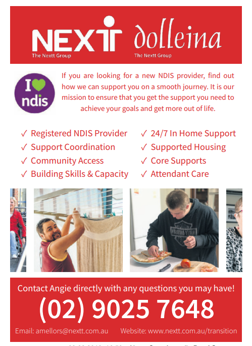 The Nextt Group acquires Dolleina in a move to become a leader in Disability Services    The Nextt...