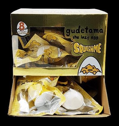 SQUISHME Gudetama  Slow release foam Squishme!  8 styles to collect