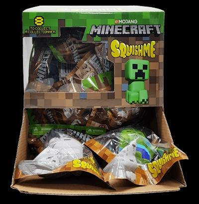 SQUISHME Minecraft  Slow release foam Squishme!  8 styles to collect