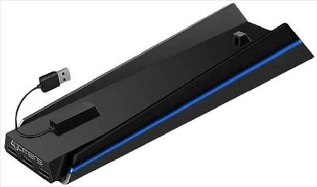 4Gamers PS4 Vertical Stand n USB HubThe Vertical Stand 'n' USB Hub allows you to store your PS4...