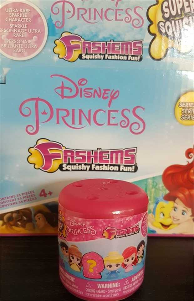 With Disney Princess Fash'ems - youll be able to twist em, squeeze em and squish em! Fashems are a...