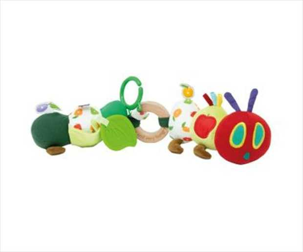 Age Range: Birth  The Tiny Caterpillar Activity Toy from the Tiny and Very Hungry Caterpillar...