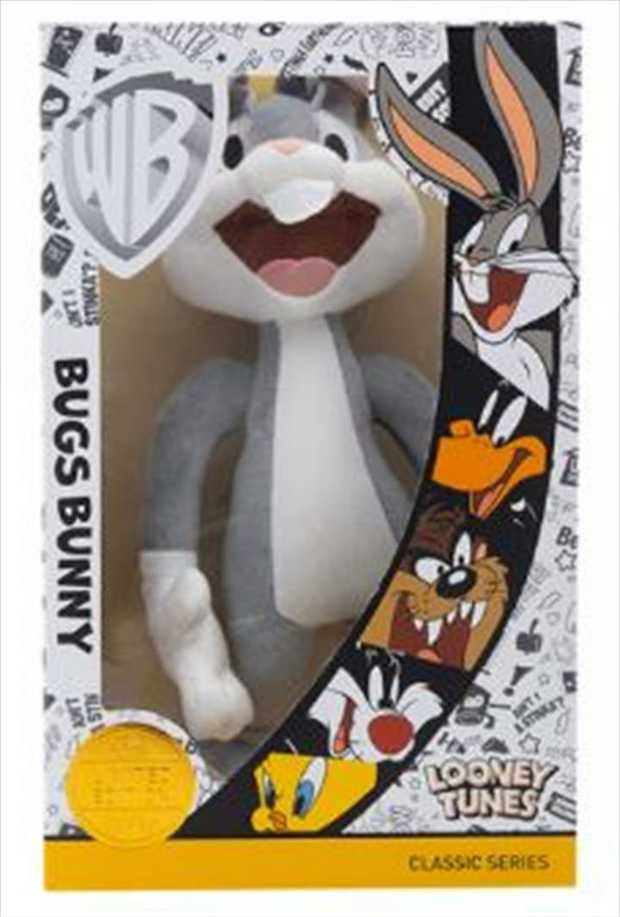This LIMITED Edition Looney Tunes character plush comes with a certificate of authenticity.