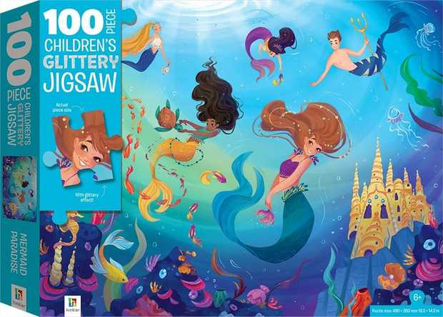 Dive into a deep underwater world with this mystical title. Children and adults alike will love...