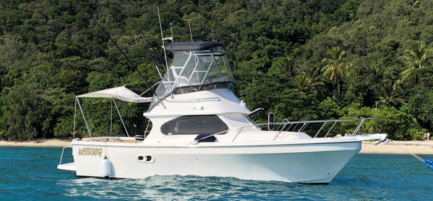 Blackwatch 26 GRP FlybridgeIMMACULATE COND$110,000FOUR REELJust completed major refit, no expenses...