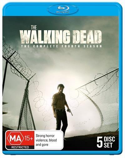 The Walking Dead Season 4 Blu RayContinues the story of former sheriffs deputy Rick Grimes, who...