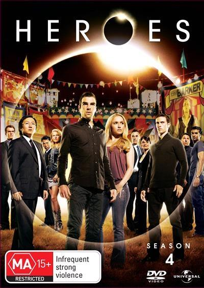 <H3> Heroes Season 4 DVD - On Sale Now With Fast Shipping<H3>The final...