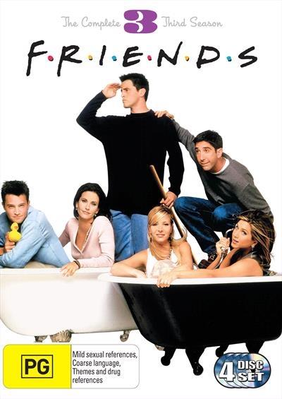 <H3> Friends Season 3 DVD - On Sale Now With Fast Shipping<H3>This DELUXE...