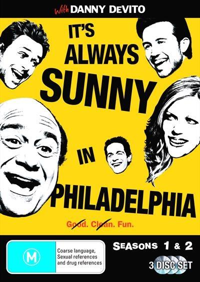 <H3> It's Always Sunny In Philadelphia Seasons 1 - 2 DVD - On Sale Now With Fast...