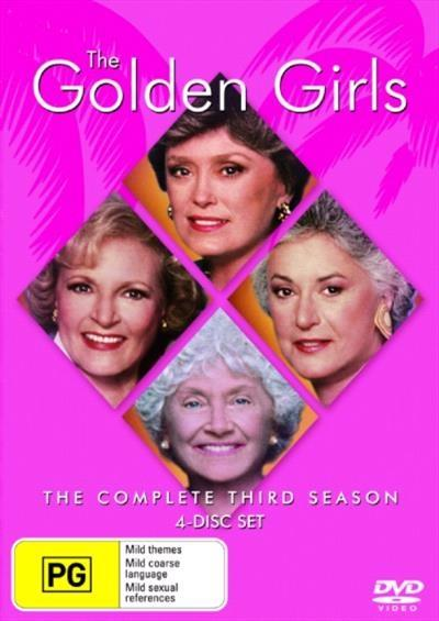 <H3> Golden Girls Season 3 DVD - On Sale Now With Fast Shipping<H3>Your...