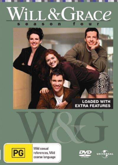 <H3> Will and Grace Season 4 DVD - On Sale Now With Fast Shipping<H3>Meet...