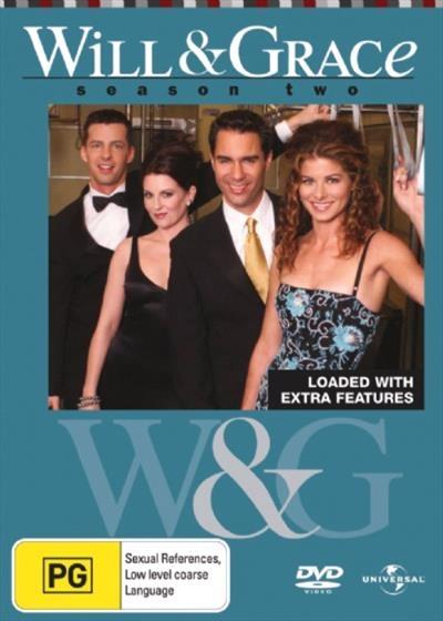 <H3> Will and Grace Season 2 DVD - On Sale Now With Fast Shipping<H3>Meet...