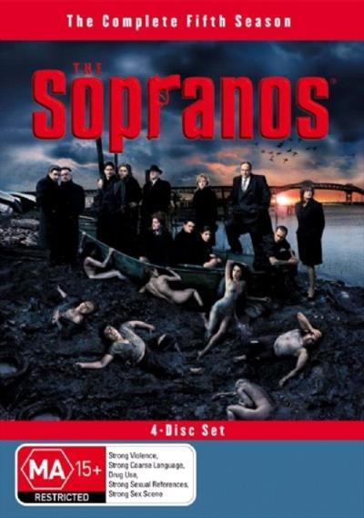 <H3> Sopranos Season 5 DVD - On Sale Now With Fast Shipping<H3>4 DVD's...