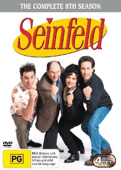 <H3> Seinfeld Season 8 DVD - On Sale Now With Fast Shipping<H3>Back by...