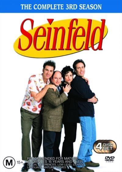 <H3> Seinfeld Season 3 DVD - On Sale Now With Fast Shipping<H3>One of the...