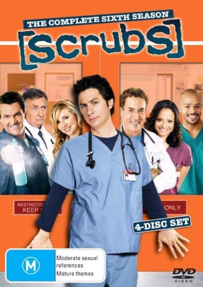 <H3> Scrubs Season 6 DVD - On Sale Now With Fast Shipping<H3>Expect big...