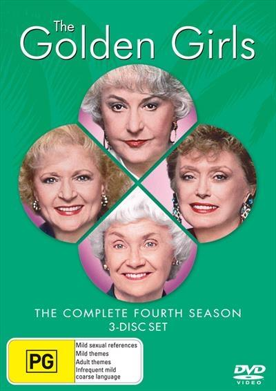 <H3> Golden Girls Season 4 DVD - On Sale Now With Fast Shipping<H3>One of...