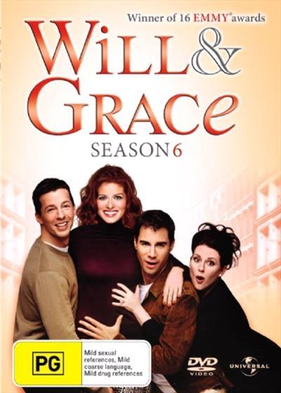 <H3> Will and Grace Season 6 DVD - On Sale Now With Fast Shipping<H3>Meet...
