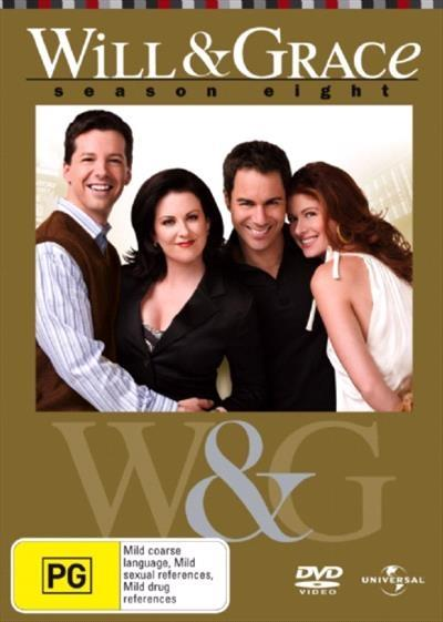 <H3> Will and Grace Season 8 DVD - On Sale Now With Fast Shipping<H3>Meet...